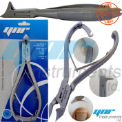 YNR®- Professional Toe Nail Cutters Clippers Nippers Chiropody Podiatry Heavy Duty - For Very Thick Nails FUNGUS NAILS - Moon Shape - C Shape