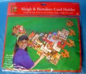 Pms Sleigh & Reindeer Card Holder
