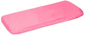 aBaby Organic Fitted Bassinet Sheet, Medium Pink