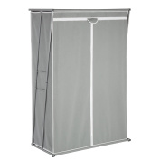 Honey-Can-Do WRD-02919 Z-Frame Wardrobe Closet with 120cm Hanging Space, 46 by 50cm by 160cm