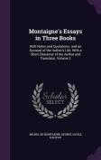 Montaigne's Essays in Three Books
