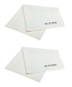 (OVERSIZE PACK) All In Magic® Premium Microfiber Cleaning Cloths - Extra Large Cloths Specially Designed for Large LCD, LED, 4K, 3D, Plasma TV Screens and Other Delicate Surfaces