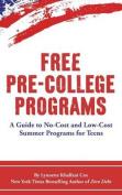 Free Pre-College Programs