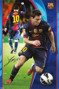 Lionel Messi - FC Barcelona Sports Poster 60cm x 90cm