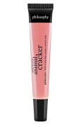 Philosophy Pink Frosted Animal Cracker Flavoured Lip Shine, 10ml