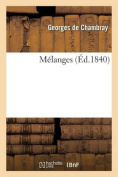 Melanges (Sciences Sociales) [FRE]