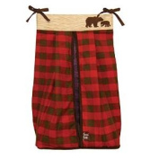 Trend lab 110243 Northwoods Nappy Stacker - Buffalo Cheque Flannel