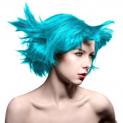 Atomic Turquoise Blue Amplified Manic Panic 120ml Hair Dye Squeeze Bottle