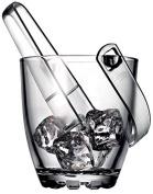 Reception 1611174 Highland Ice Bucket Clear Glass 15 x 13.5 x 15.5 cm