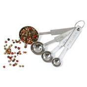 Norpro Stainless Steel Measuring Spoon, Set of 4