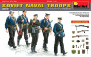 "Miniart 1:35 Scale ""Soviet Naval Troops"" Plastic Model Kit [Special Edition]"