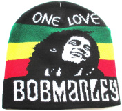 Bob Marley Hat Red Gold Green Jamaica