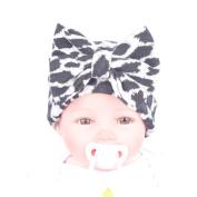 AutumnFall® Newborn Girl Nursery Beanie Hospital Hat With Large Bow