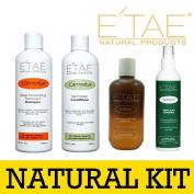 Etae Carmelux Shampoo Conditioner E'tae Carmel Treatment Nutrient Scalp Replenisher Combo Kit Natural Products