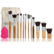 RUIMIO 12 Pieces Makeup Brush Set Professional