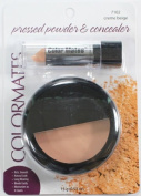 Colormates Pressed Powder & Concealer #7102 Creme Beige