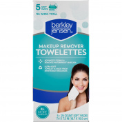 Berkley Jensen Make Up Remover Facial Towelettes, 125 ct.