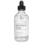 Matrixyl 3000 Serum with Organic Hyaluronic Acid 120ml - Asterwood Naturals - Official Sederma Matrixyl 3000 - Anti Ageing, Anti Wrinkle - Collagen Boost - 120ml Clear Glass Bottle