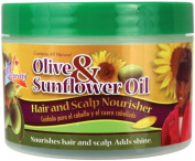 Olive & Sunflower Oil Hair & Scalp Nourisher by Soft 'n Free Gro Healthy