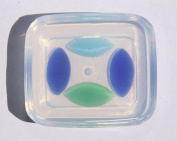 Clear-silicone jewellery 10x20mm flat back cabochon oval for jewellery good for pendant,earrings,bracelet,art,craft.