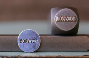 "Brand New Supply Guy 10mm ""Survivor"" Word Metal Punch Design Stamp CH-96"