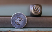 Brand New Supply Guy 6mm Moon and Star Metal Punch Design Stamp CH-90