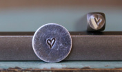 Brand New Supply Guy 3mm Jenna Sue Heart Metal Punch Design Stamp CH-87