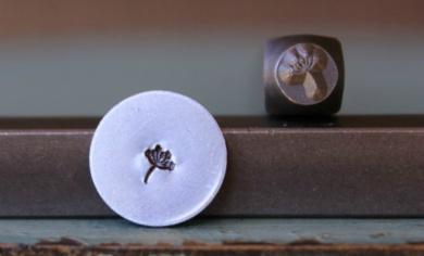 Brand New Supply Guy 3.5mm Dandelion Puff Metal Punch Design Stamp CH-85