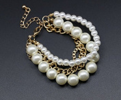 mywaxberry dress accessory tiara chain ring pearls bracelet