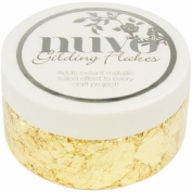 NGF850 Nuvo Gilding Flakes 200ml, Radient Gold