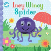 Little Learners Incy Wincy Spider Finger Puppet Book [Board book]