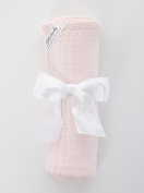 Baby Laundry Cotton Swaddler, Swaddling Blanket for Boys Girls - Pink