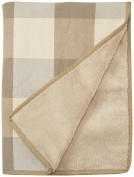 Jax and Bones Buffalo Cheque Blanket - Large - Puddy