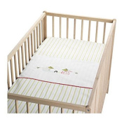 IKEA Fabler Groda Frog Crib Duvet with Pillowcase