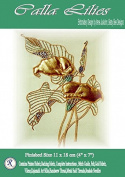 Calla Lillies - Rajmahal Sadi Metal Thread and Art Silk Kit