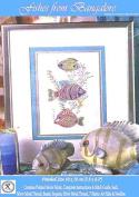 Fishes from Bangalore - Rajmahal Sadi Metal Thread and Art Silk Kit