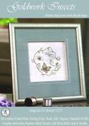 Goldwork Insects - Rajmahal Sadi Metal Thread and Art Silk Kit
