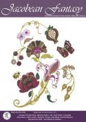 Jacobean Fantasy - Rajmahal Sadi Metal Thread and Art Silk Kit