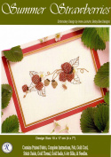 Summer Strawberries - Rajmahal Sadi Metal Thread and Art Silk Kit