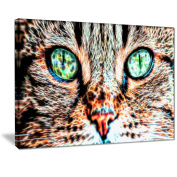 Digital Art PT2411-40-30 Windows to the Soul Large Animal Wall Art