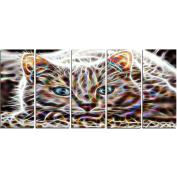 Digital Art PT2443-401 Cat Nap Animal Canvas Art
