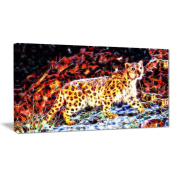 Digital Art PT2417-40-20 On the Prowl Cheetah Large Animal Wall Art