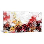 Digital Art PT3434-40-20 Mixed Roses Floral Canvas Art