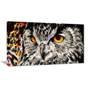 Digital Art PT2420-40-20 A Real Hoot Owl Large Animal Wall Art