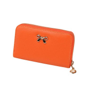 SMTSMT Women's Korean Purse Solid Wearable Short Wallet