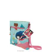 Santoro London Kori Kumi Coated Cross Body Bag Under My Umbrella