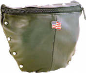 Women's Small Shoulder Bag with American Flag