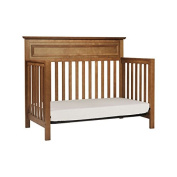 Baby Crib Bedding Sets Furniture Convertible 4 in 1 Pine Wood Chestnut