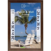 24x36 Wide Walnut Poster and Picture Frame