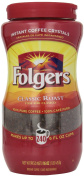 Folgers Instant Coffee Crystals, Classic Roast, 470ml